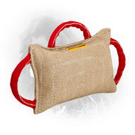 Jute Newfoundland Bite Pad with 3 Comfortable Handles