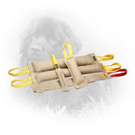 Jute Newfoundland Bite Training Set of 5 Tugs for Adult Dogs