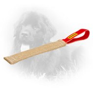 Eco-Friendly Jute Newfoundland Bite Tug with Loop-Like Handle