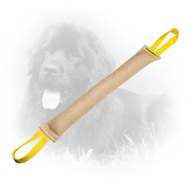 35% OFF - LIMITED OFFER Long Jute Newfoundland Bite Tug for Bite Skills Improving