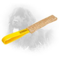Jute Newfoundland Bite Tug with Handle for Puppy Training