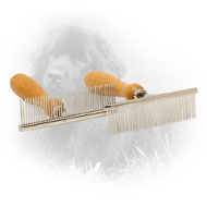 Chrome Plated Newfoundland Comb for Daily Grooming