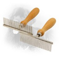 """Personal Groomer"" Metal Newfoundland Comb for Everyday Grooming"