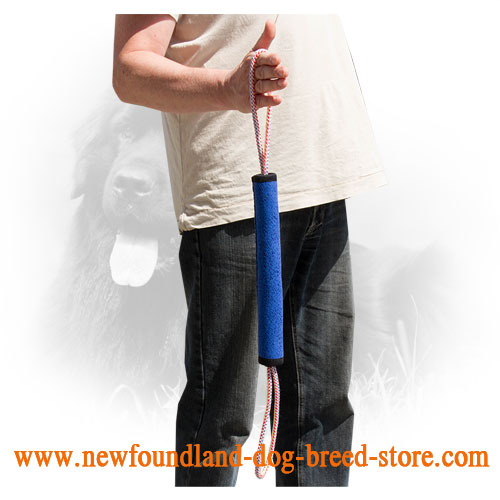 Extra Durable Newfoundland Bite Roll with Two Handles