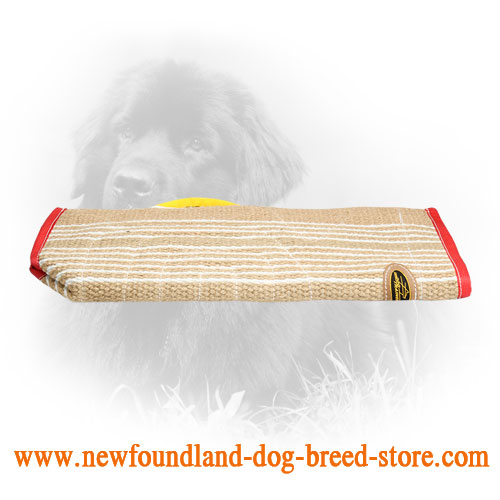 Protection Jute Newfoundland Bite Sleeve Cover for More Effective Training