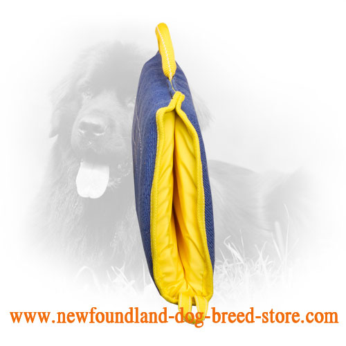 Extra Durable Newfoundland Bite Sleeve with Comfortable Handles