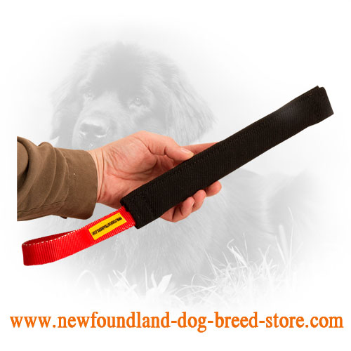 Long Newfoundland Bite Tug with One Handle