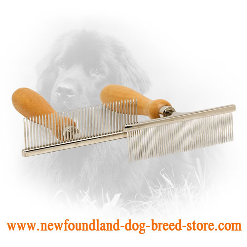 Newfoundland Comb for Daily Grooming