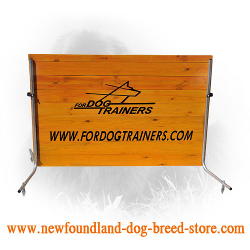 Schutzhund Jump for Newfoundland Field Training