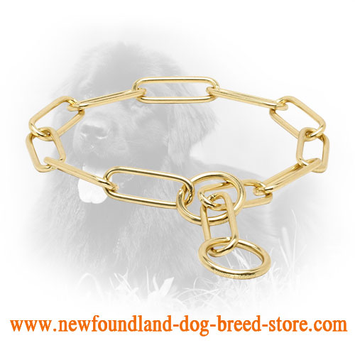 Reliable Brass Newfoundland Fur Saver for Training