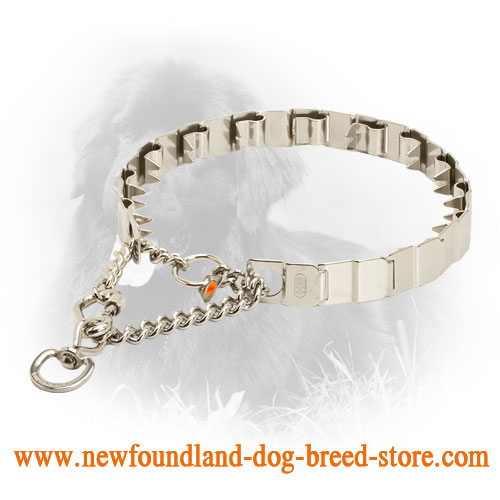 Neck Tech HS Newfoundland Pinch Collar of Top Quality