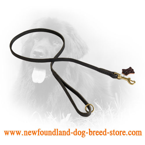 Traditional Stitched Newfoundland Leash