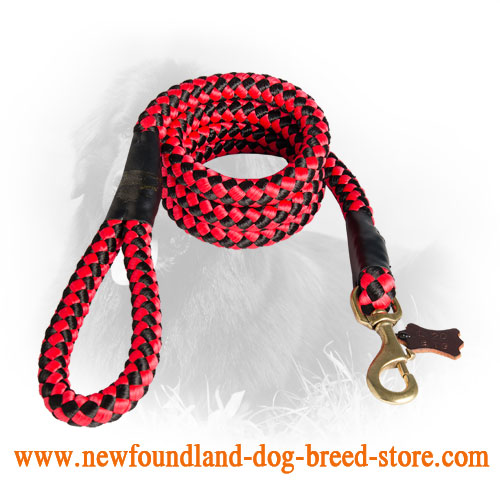 Newfoundland Nylon Leash Cord Type