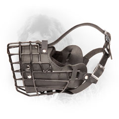 Winter Wire Cage Dog Muzzle for Training