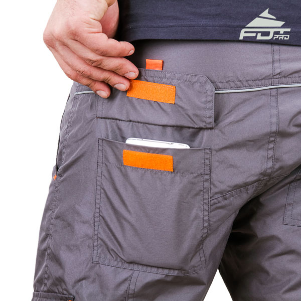 Comfortable Design FDT Professional Pants with Durable Back Pockets for Dog Trainers