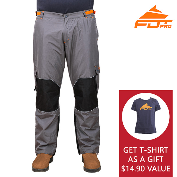 Buy Dog Training Pants and Get T-shirt as a gift