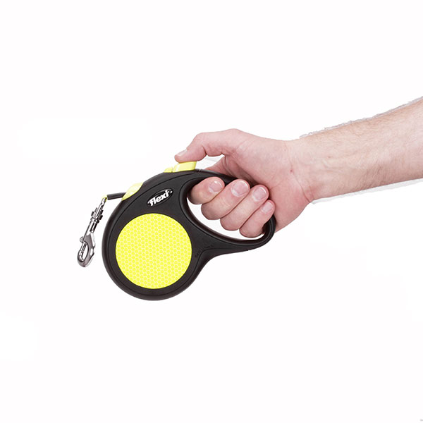 Walking Neon Style Retractable Leash for Total Safety