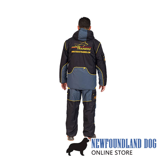 Train your Dog in Light and Waterproof Bite Suit