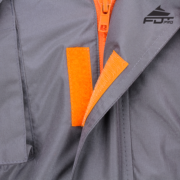 Durable Velcro Fastening on Dog Tracking Jacket for Everyday Use