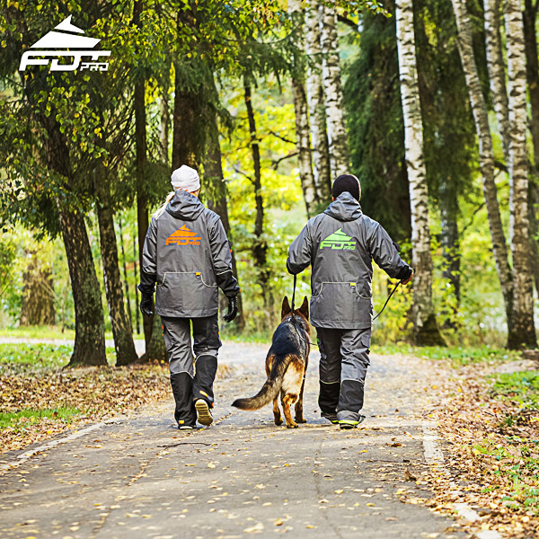 Pro Dog Trainer Jacket of Best Quality for Any Weather Use