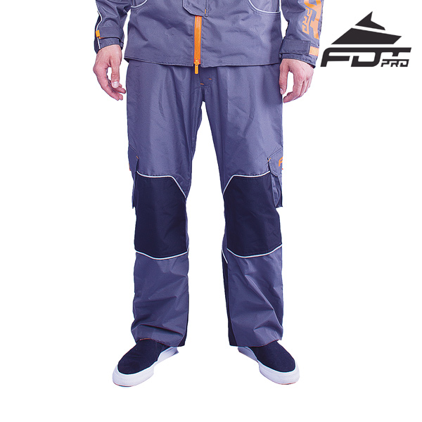 FDT Professional Pants Grey Color for Cold Seasons