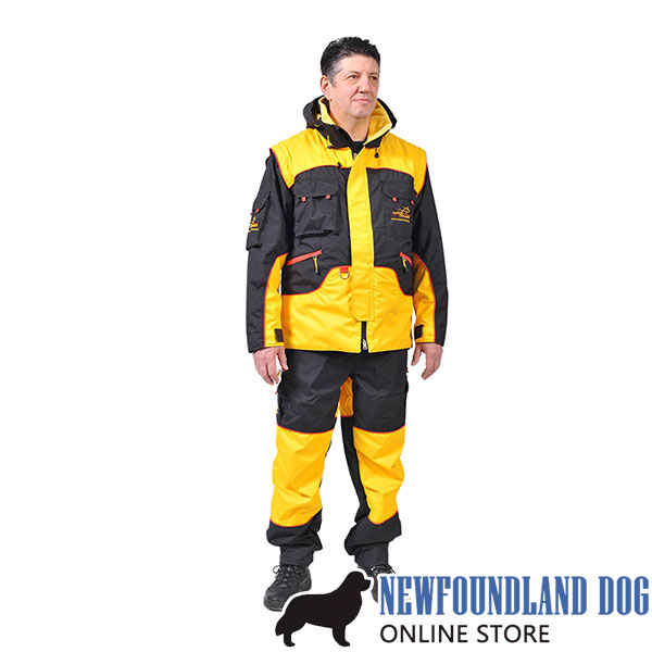 Protection Training Suit of Water Resistant Membrane Material