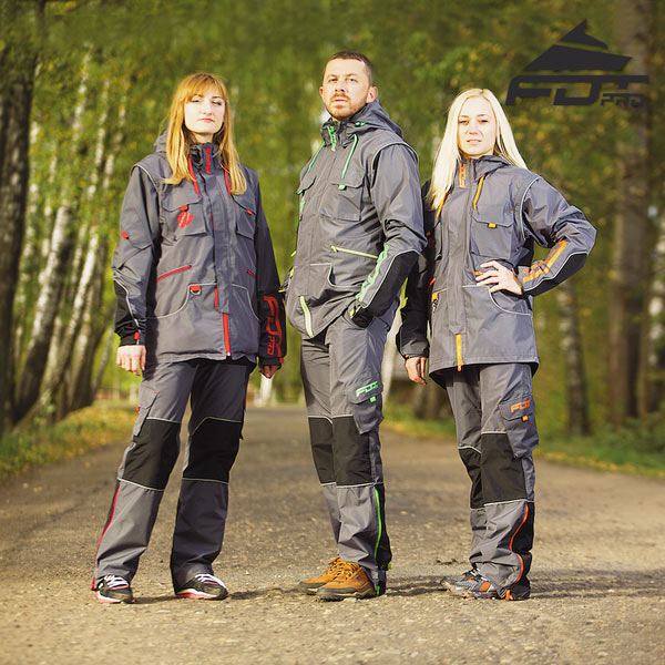 Dog Training Suit for All Weather Conditions