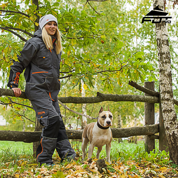 Unisex Design Pants with Comfortable Side Pockets for Active Dog Trainers