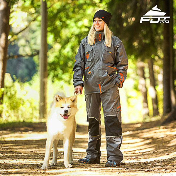 Men / Women Design Dog Training Jacket of Best Quality Materials