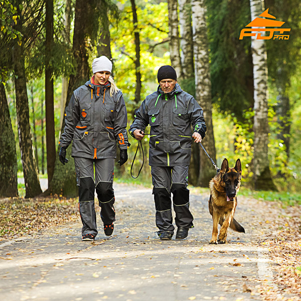 Any Weather Conditions Strong Dog Training Suit for Men and Women